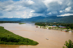 Delta湄公河 图库摄影