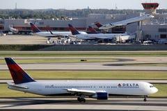 Delta航空公司 库存照片