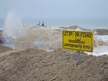Delta荷兰供水系统 库存照片