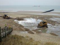 Delta荷兰供水系统 免版税图库摄影