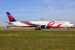 Delta 767 Imagens de Stock Royalty Free