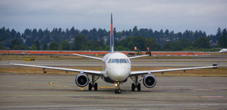 Delta Air Lines Royalty Free Stock Photography