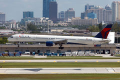 Delta Air Lines Boeing 757 Stock Images
