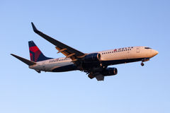 Delta Air Lines Boeing 737 Commercial Plane Stock Photography