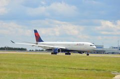 Delta Air Lines Boeing Royalty Free Stock Photo