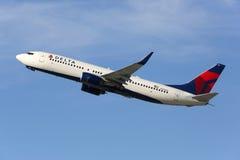 Delta Air Lines Boeing 737-800 flygplan Arkivbilder