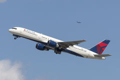 Delta Air Lines Boeing 757 flygplan Arkivfoton