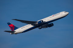 Delta Air Lines Boeing 767 Stock Image