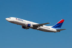 Delta Air Lines Boeing 737 Royalty Free Stock Image