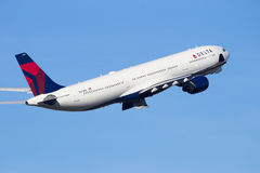 Delta Air Lines N803NW Airbus A330 Royalty Free Stock Images