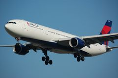 Delta Airline Fleet Royalty Free Stock Photography