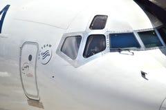 Delta Airlines σε ATL Στοκ φωτογραφία με δικαίωμα ελεύθερης χρήσης