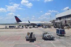Delta Airlines σε ATL Στοκ Εικόνα