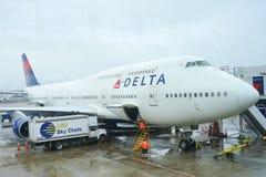 Delta Airlines stock foto's