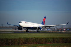 Delta Airlines A330-300 Photo stock