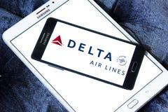 Delta Airlines logo Royaltyfri Bild