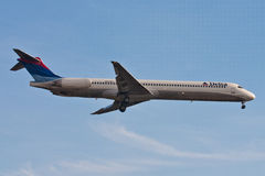 Delta Airlines - MD88 Aircraft Stock Photography