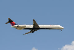 Delta Airlines Passenger Jet Royalty Free Stock Image