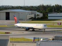 Delta Airlines passenger jet Stock Photos