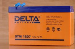 Delta battery Royalty Free Stock Photography