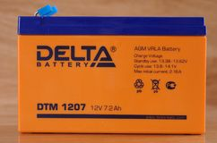 Delta battery Stock Images