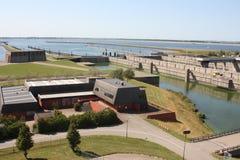Delta bearbeitet Provinz von Zeeland in den Niederlanden Stockfotografie