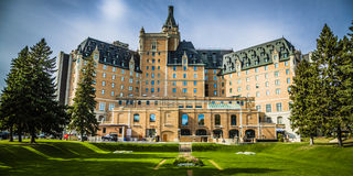 The Delta Bessborough Hotel. Saskatoon's most distinguished landmark, The Delta Bessborough Hotel Stock Image