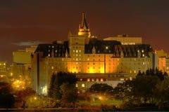 Delta Bessborough Hotel, Saskatoon Stock Image