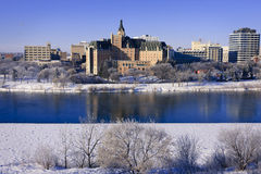 Delta Bessborough Hotel, Saskatoon Stock Photography