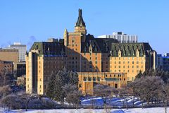 Delta Bessborough Hotel, Saskatoon Royalty Free Stock Photo