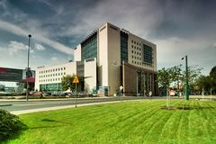 Delta Center Poznan Royalty Free Stock Image