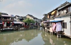 Delta Chinas der Jangtse Stockfotos