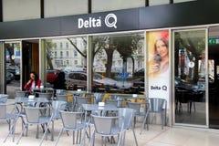Delta coffee cafe Royalty Free Stock Photos