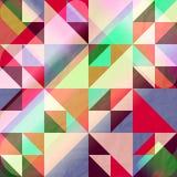Delta colorido stock de ilustración