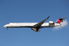 Delta Connection Bombardier CRJ-900 Stock Image