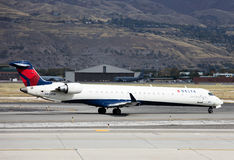 Delta Connection Canadair  Bombardier CRJ-900LR Royalty Free Stock Image