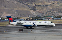Delta Connection Canadair CRJ-701ER royalty free stock image