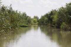 Delta of Danube. Vilkovo. Royalty Free Stock Photos