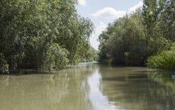 Delta of Danube. Vilkovo. Stock Photos