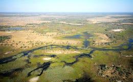 delta de 2 Africains Photos libres de droits