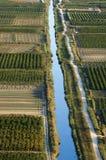 Delta de Croatia - de Neretva fotografia de stock royalty free