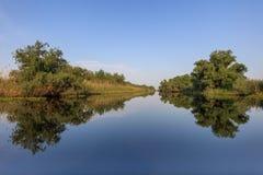 Delta de Danubio, Rumania Fotografía de archivo