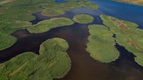 Delta de Danubio, Rumania fotos de archivo libres de regalías