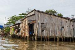 Delta de fleuve de Mekong image stock