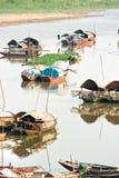 Delta de Mekong, Vietnam image libre de droits