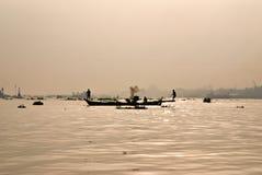 Delta de Mekong, Vietnam. Image stock