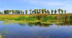 Delta de Neajlov Photographie stock