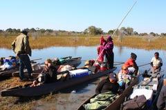 Delta de Okavango Fotos de archivo libres de regalías