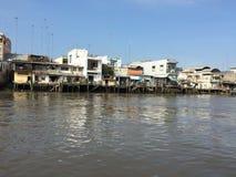 Delta de Vietnam, el Mekong Imagenes de archivo
