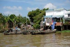 Delta del Mekong Imágenes de archivo libres de regalías